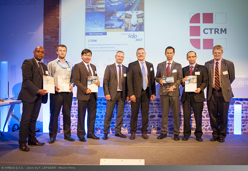 Airbus Procurement Aerostructures SQIP Awards